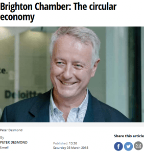 Peter Desmond circular economy Strategic Advisor