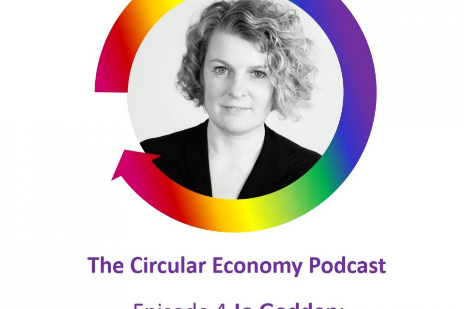 Circular Economy Podcast Jo Godden of Ruby Moon recycled ocean plastics