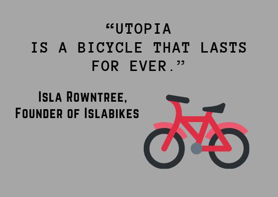 circular economy bicycle utopia