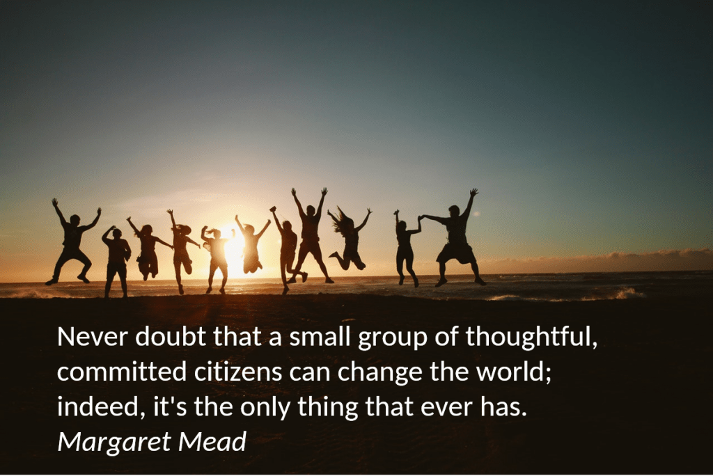 Margaret Mead never doubt quote