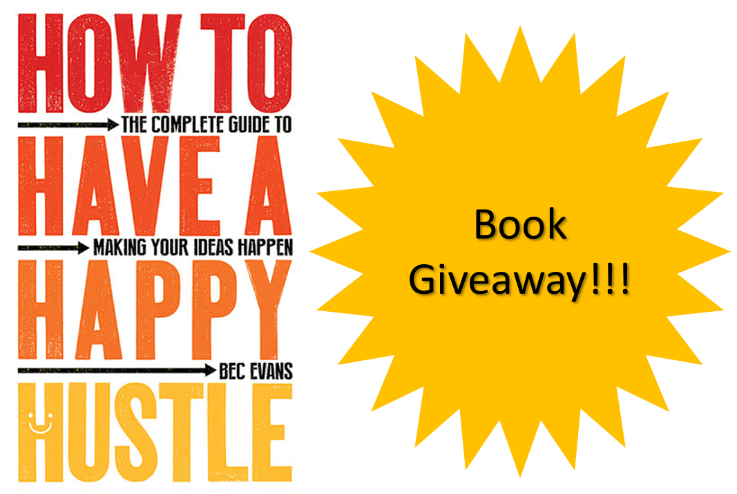 Happy Hustle giveaway no background