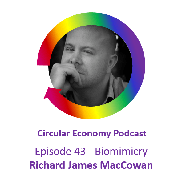 Ep 43 Richard James MacCowan Biomimicry