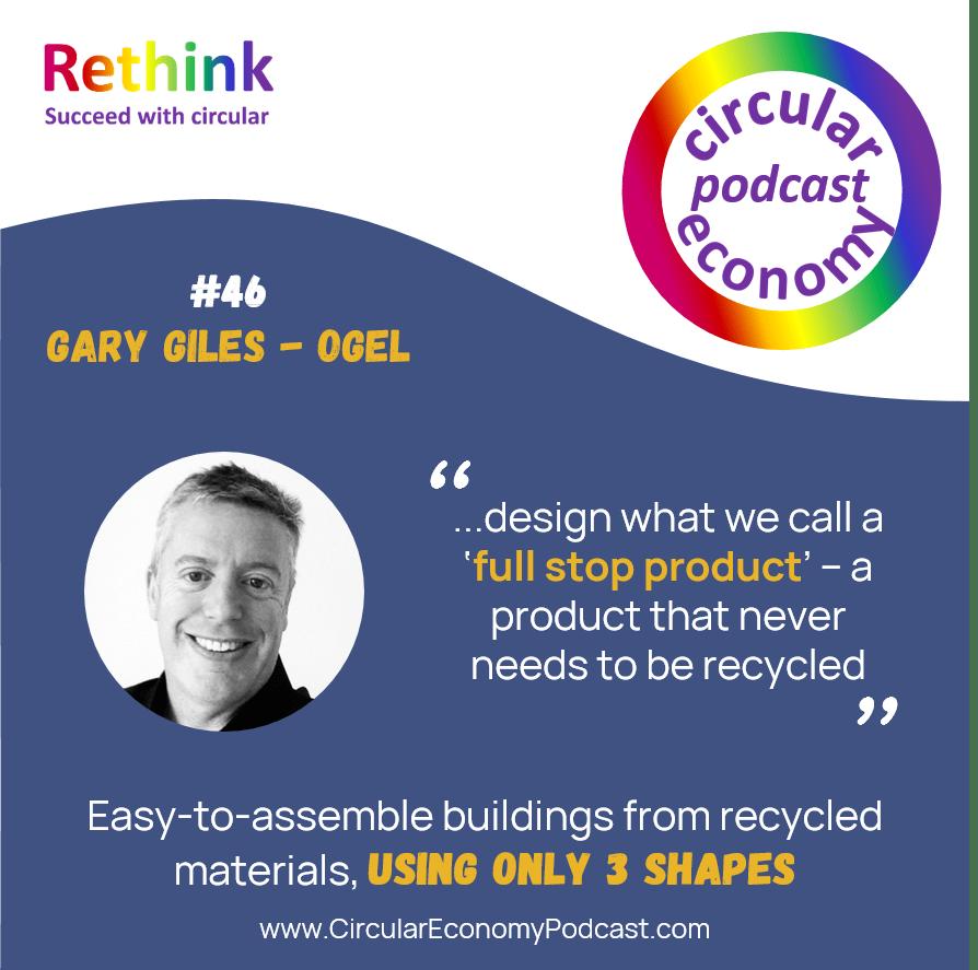 Circular Economy Podcast Episode 46 Gary Giles - OGEL