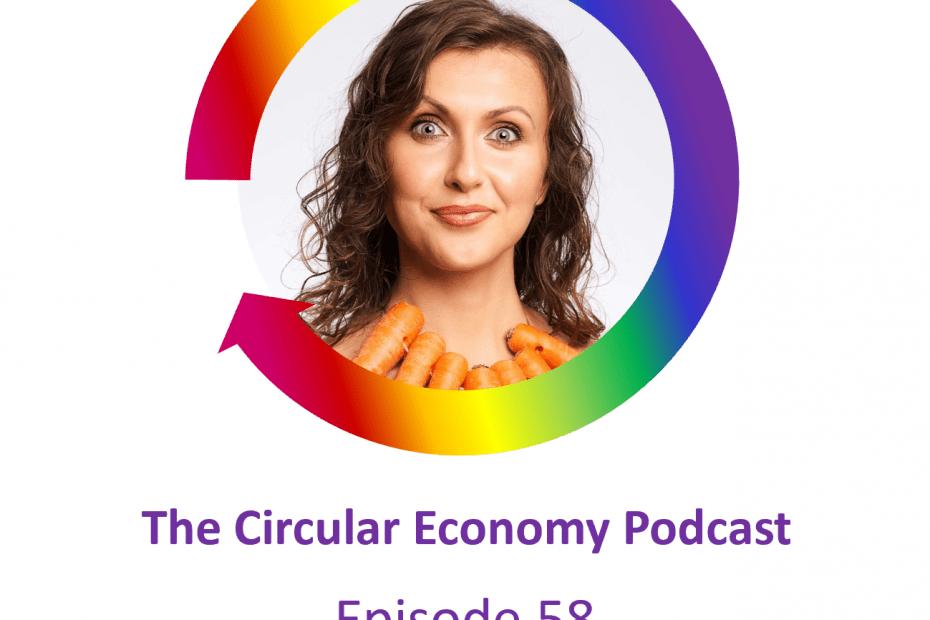 Circular Economy Podcast Episode 58 Elis Joudalova - OLIO