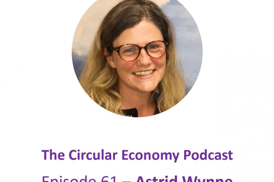 Episode 61 Astrid Wynne – IT Sustainability expert