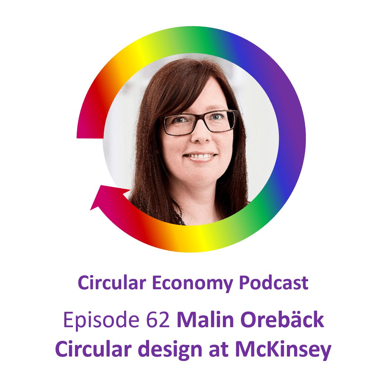 Episode 62 Malin Orebäck Circular Design at McKinsey