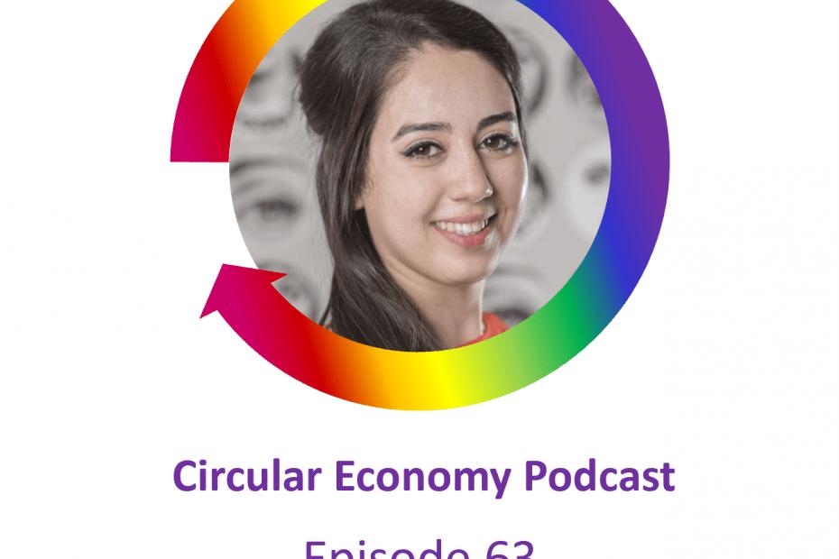 Circular Economy Podcast Episode 63 Hede Razoky – The Upcyclecentrum