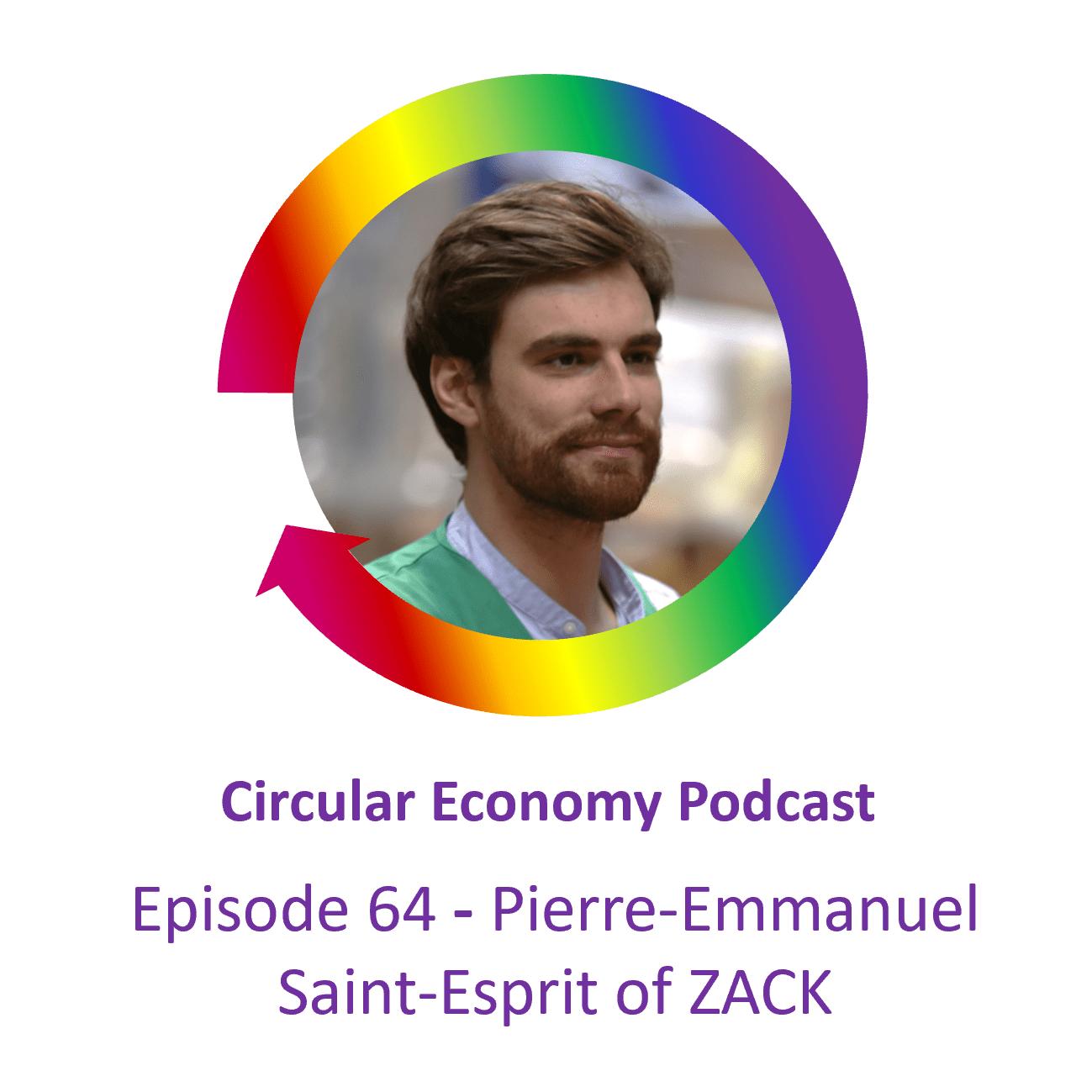 Ep64 Pierre-Emmanuel Saint-Esprit of ZACK